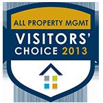 2013 Visitors' Choice Awards