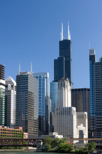 In Illinois, do you need a broker's license to manage properties?