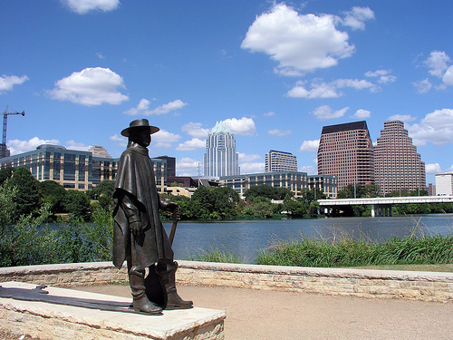 Austin Skyline | Stevie Ray Vaughn