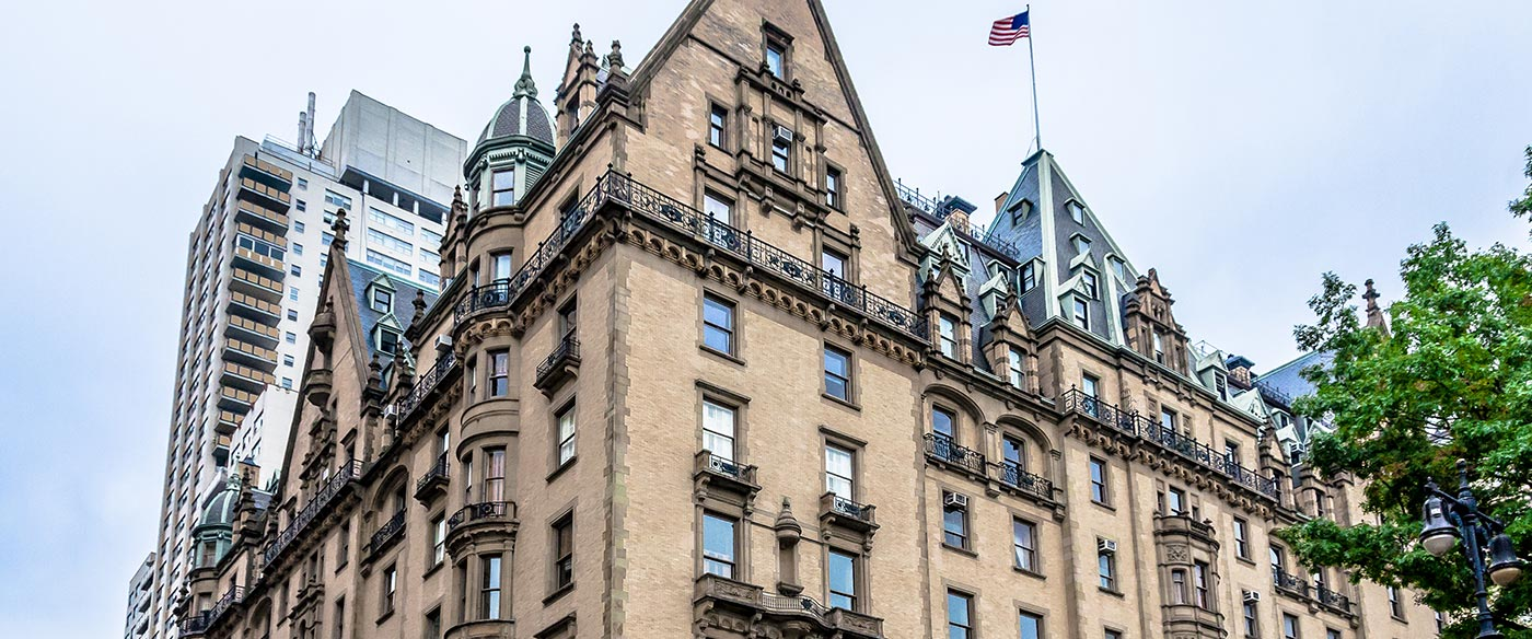 The Dakota is one of the most prestigious co-op buildings in New York City. It is located at the northwest corner of 72nd Street and Central Park West in the Upper West Side of Manhattan. Its construction was completed in 1884.